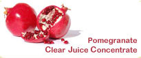 Pomegranate Frozen Clear Juice Concentrate